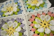Crochet blocks and squares
