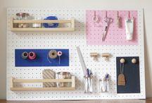 petit espace atelier / bureau