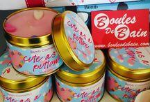 Bougies et Parfums d'ambiance / Découvrez les bougies Bombs cosmetics, parfums d'ambiance, les huiles essentielles (qui arrivent bientôt)