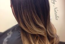 ombre hair color I like / by Deanna Candelaria