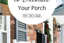 Christmas Decor and Curb Appeal