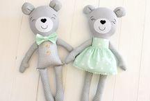 Muñecas de tela o artesanías
