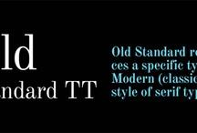 NamsNotes typografie / Mogelijke lettertypes voor http://www.namsnotes.nl