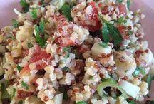 salade libanaise  aux quinoa