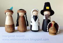 Home made nativity set