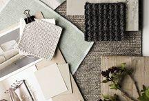 Panel colores y textiles