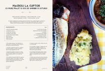 Le Peste / retete delicioase cu peste de diverse modele : macrou, novac, sardina, hering, pastrav si altii ..