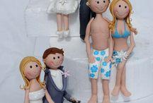 Fondant_Wedding figurines