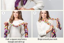 Fashion: scarfs / by Christina@TheFrugalHomemaker.com