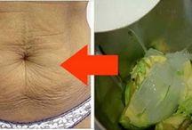 bebida e abacate p/ rugas e manchas pele