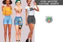 Sims4 cc woman's clothing
