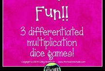 Multiplication and Division Lessons and Activities