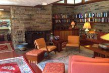 Frank Lloyd Wright / Houses of an era that inspire me