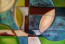 Paintings / Acrylic paintings.