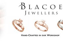 Handmade Claddagh Rings / Inspired by history, created by craftsmen, forged in precious metal, Blacoe Jewellers are proud to present their range of exceptional #Claddagh Jewellery from the home of the Claddagh in Galway, Ireland.