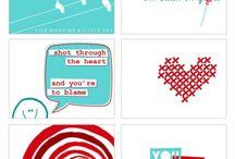 Valentine Printables / by Sara Grilo