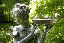 The Secret Garden~ Elegant Urns,Garden Design, & Sculpture / by Christie Oliver