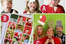 Christmas Holiday Photo Booth Ideas