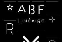 fonts / by Alain von Bonin