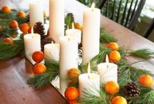 Fall Table Decor / Simple arrangement inspirations for a stylish table / by Gail Seymour