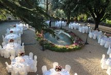 Garden weddings & dinners / Have a wedding or a dinner in the Castello il Palagio garden. Beautiful Chianti country landscapes...
