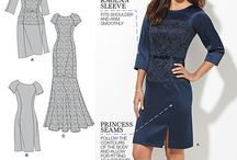 vintage and other dress patterns