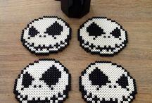 Perler Beads Coasters