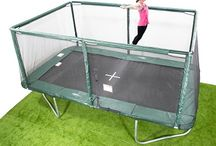 Our Rectangle Trampolines - Geelong Australia / Quality Rectangle Trampolines - for home use with a focus on kids that train at home for Gymnastics, Cheerleading, parkour, snowboarding, etc Also great trampolines for happy bouncing kids.