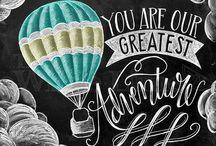 chalkboard baloon