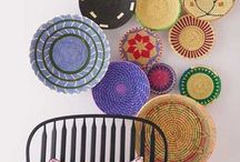 colgar cestas