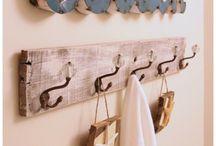 Decoración náutica / Inspiración para decorar casas de playa, o simplemente para quienes gustan de motivos náuticos en su hogar.