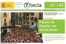 Fiestas de España - Spanish Holidays and Celebrations / Fiestas de España