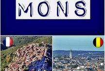 Villes homonymes France-Belgique / Découvrons ensemble les villes françaises dont l'homonyme est présent en Belgique !