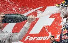 Champagne & F1 / We would never do this to any of our champagne ! www.the-champagne.ch
