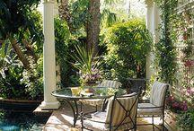 Outdoor Spaces / Decks, Gardens, Patios, Planters / by Diane Seward