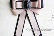 Bow Neck Brooches
