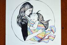 Nošení dětí + kojení + těhotenství
