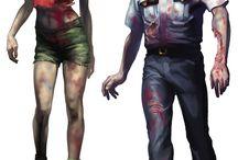 Zombie,Horror concept