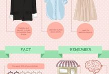 Wardrobe Decluttering Tips / Useful tips for cleaning and organising your wardrobe.