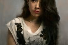 Female Portrait Paintings