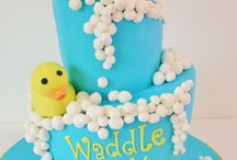 Baby Shower Cakes NJ / Baby showers are a wonderful time to celebrate the soon-to-be arrival.  We are located in Bergen County, New Jersey NJ and our wedding cake clients are in the New Jersey NJ, New York NY, New York City NYC, Brooklyn, NY, Queens NY, Staten Island NY, Rockland County NY and Orange County NY. Contact us to by email — designer@sweetgrace.net — or phone — 917-533-7425 — to create a cake for your special event! Check out our designs at www.sweetgrace.net. / by Sweet Grace, Cake Designs