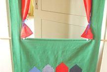 Puppentheater....in der Tür