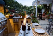 Garden and outside spaces / by Micheline Gilmore- Hendricks