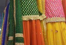 Mehndi Dress for Women