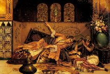 HAREM and HAMAM of ORIENTALIST ARTIST STATEMENT