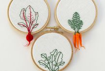 Vegetable Textile Art