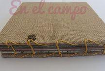 artesanias huellas / manualidades en carton madera papel