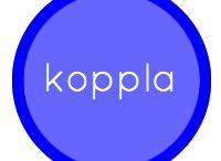 KOPPLA / Pins som på olika sätt uttrycker kopplande av teknik, information, medier och digitala bibliotekstjänster.  Nyckelord: NÄTVERK, SOCIALA MEDIER, MATCHMAKING.