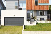 Curb Appeal / Front yard, drive way, and house accents & color ideas / by Jes Motta