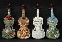 Violini, dolci e intensi allo stesso tempo....